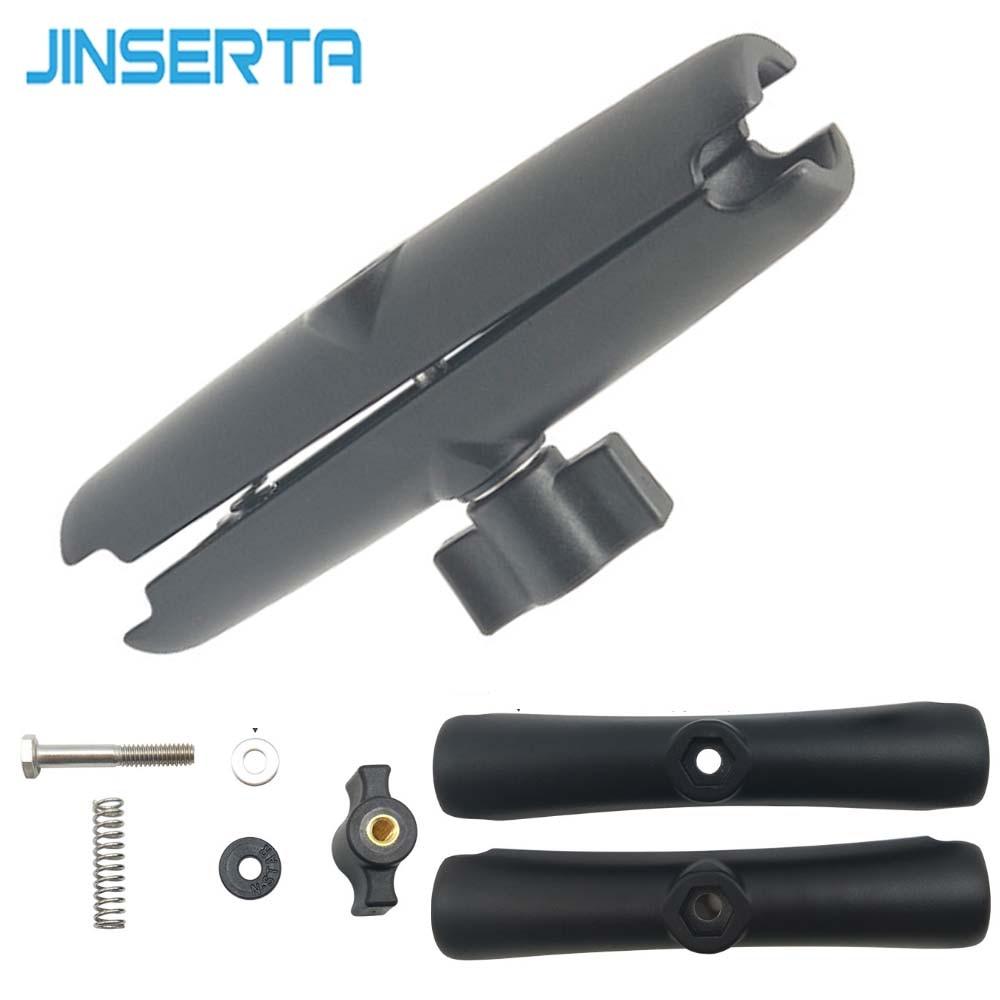 JINSERTA 15CM Long Double Socket Arm For RAM 1-Inch Ball Bases Mount