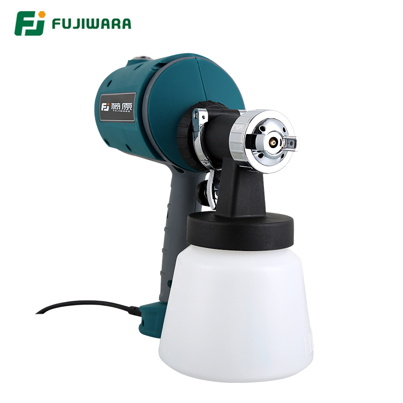 Image 3 - FUJIWARA Electric Spray gun 220 240V 50HZ  Airbrush 1.5mm/1.8mm/2.5mm Nozzle High Atomizing Spray Paint Tool-in Spray Guns from Tools on