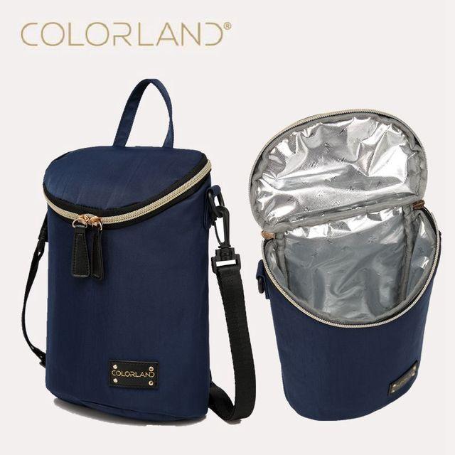 Colorland bolsas Bebé Mochila Bolsa de Bolsas de papel de aluminio de Aislamiento Bebé Alimentos para bebés Botella Calentador Fiambrera Termo Termo Bolsa