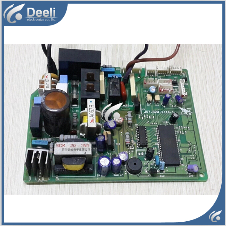 95% new good working for air conditioning motherboard Computer board JU7.820.1714-1 board good working цены