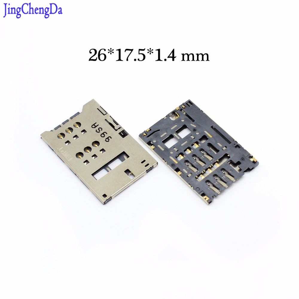 JCD New SIM Card Socket Holder Tray Replacement For Huawei E5776 E5776S E589U E589 High Quality Size 26*17.5*1.4 Mm