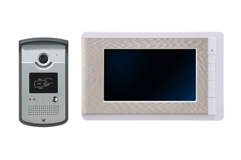 7 Inch Metal Outdoor font b Camera b font Wired Intercom Video font b Door b