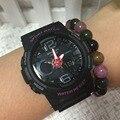 Mulheres Marca de topo Relógios Desportivos LED Relógio Digital Moda Ao Ar Livre das Mulheres À Prova D' Água relógios de Pulso Relogios Feminino Presentes Saati