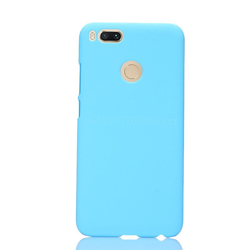 For Xiaomi 5X Case Ultra thin Smooth Back Protection Plastic PC Case For Xiaomi 5X Cover Hard Shell Fundas Back Phone Case in Half wrapped Cases from Cellphones Telecommunications
