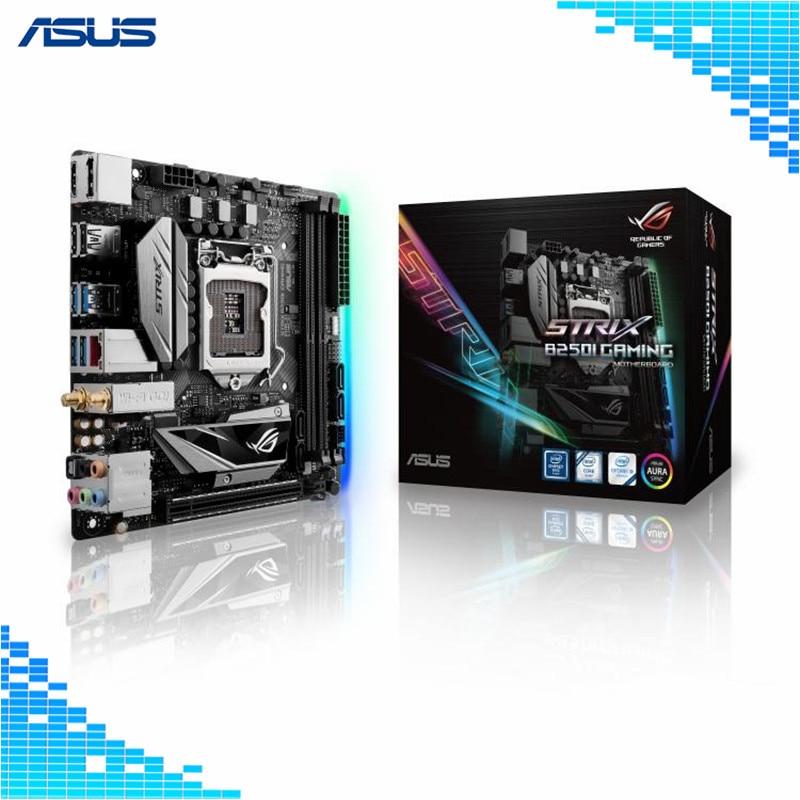 Asus ROG STRIX B250I GAMING Desktop Motherboard LGA 1151 Socket video game main board цена