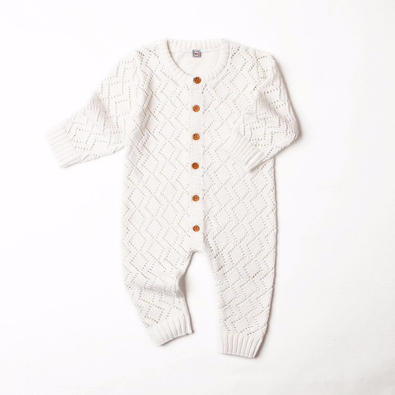 c0531fa80 Infant Knitwear sweater Baby Rompers Long Sleeve Overalls Spring ...