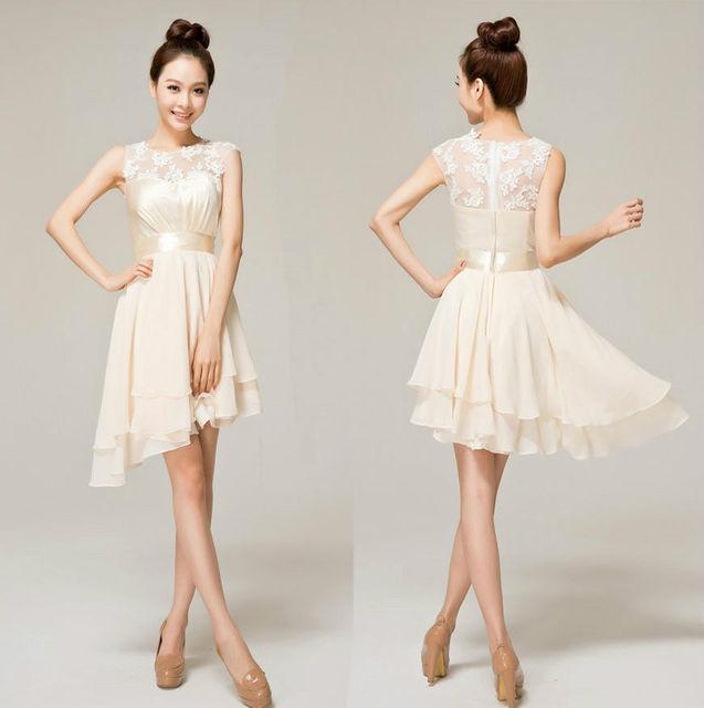Cheap Evening Dress Ivory