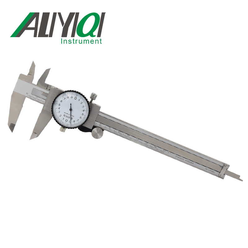 0 200mm 0 02mm dial vernier font b caliper b font easy to operation stainless steel
