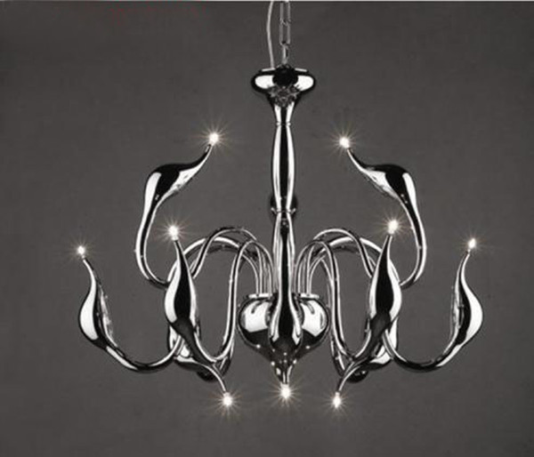 brand promotion Free shipping New Modern12-Lights Swan chandelier with G4 led bulbs By Italian Designer dinning room chandelier