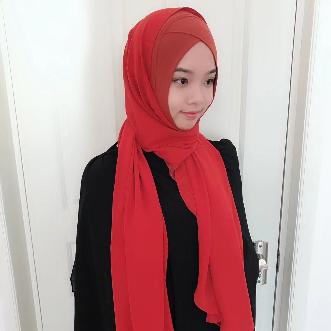to wear - How to hijab wear with headband video