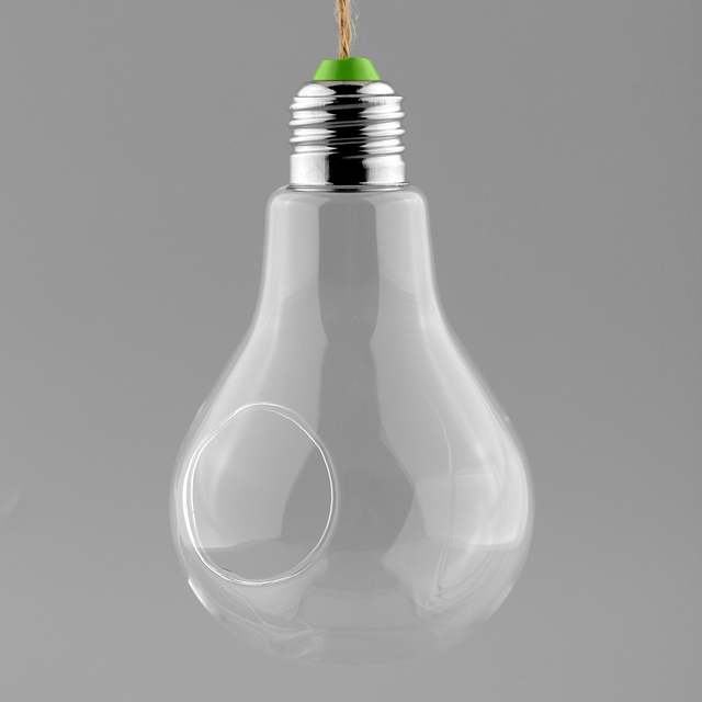 Aliexpress Buy New Glass Bulb Lamp Shape Flower Water Plant