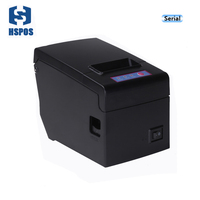 RS232 thermal receipt printer 58mm pos machine with win10 linux driver support big paper roll diameter for saving time HS E58S|receipt printer|thermal receipt printer|printer 58mm -
