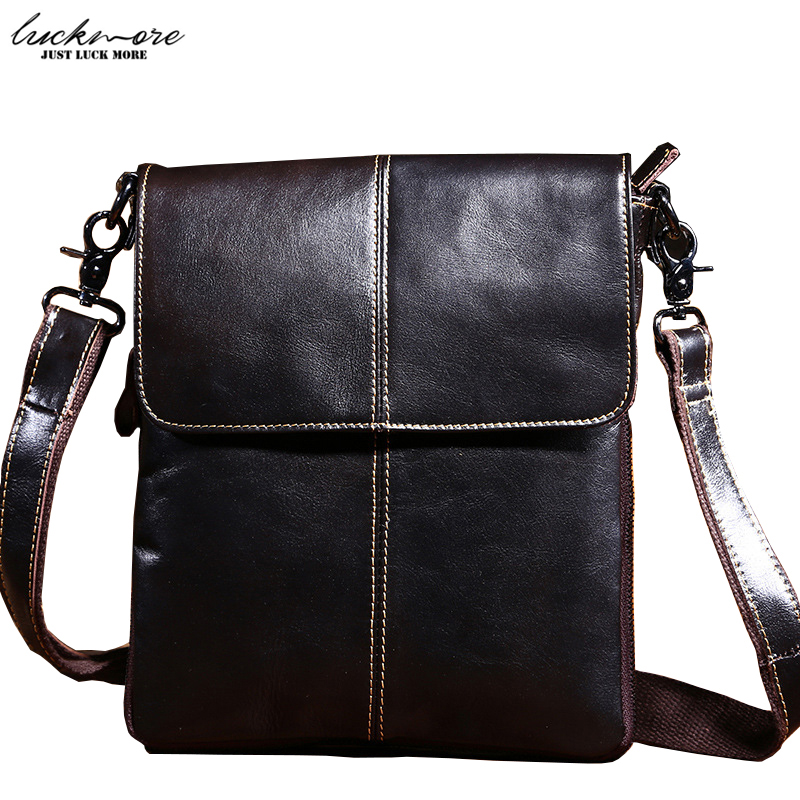 Genuine Leather Men Messenger Bags 2017 Fashion Vintage Cowhide Casual Designer Man Shoulder Bag Male Crossbody Bag High Quality high quality 2017 genuine leather men messenger bag famous brand designer vintage casual man shoulder bags business male handbag