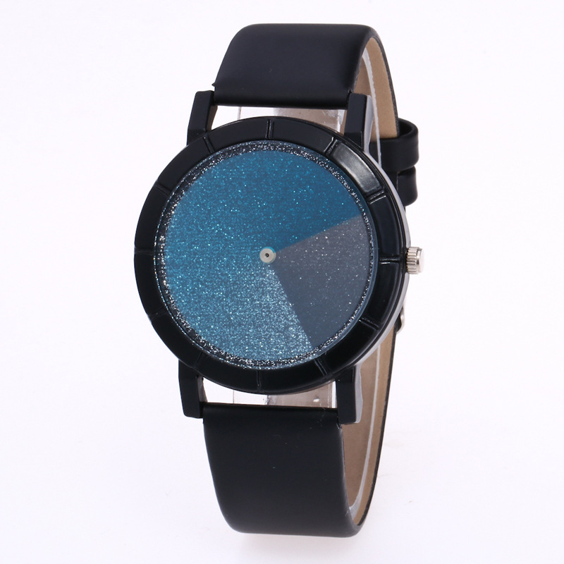 2017Fashion Creative Concept Women Watches Blue&Red Swirl Pointer Quartz Wristwatch Geek Female Sports Hour Turntable Student159 concept of vortex female student individuality creative watch han edition contracted fashion female table