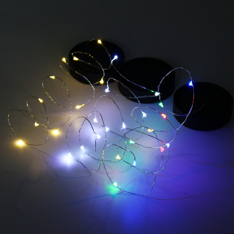 Waterproof Solar Powered 1M 10 LED String Lights Christmas Wedding LED String Fairy Light For Glass Mason Jars Lid Garden Decor