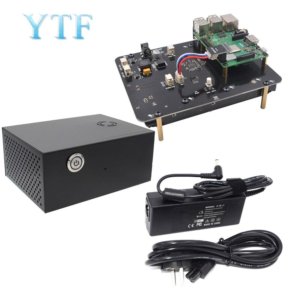 Raspberry Pi 2 3 B + Plus/3B X830 V2.0 HDD Expansion Board W/Veilig Shutdown Functie, 3.5