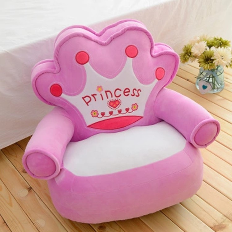 crown pink Princess plush toy about 54x45cm sofa pillow zipper closure,cushion ,baby toy,birthday gift Xmas gift d2528