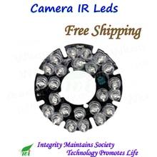 IR LED board CCTV 24 LEDS Infrared Board 90 Degree for Security Camera IP Camera WIFI Camera CCTV Camera
