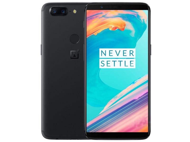 Original New Unlock Version Oneplus 5T Mobile Phone 6.016GB RAM 128GB Dual SIM Card Snapdragon 835 Octa Core Android Smartphone