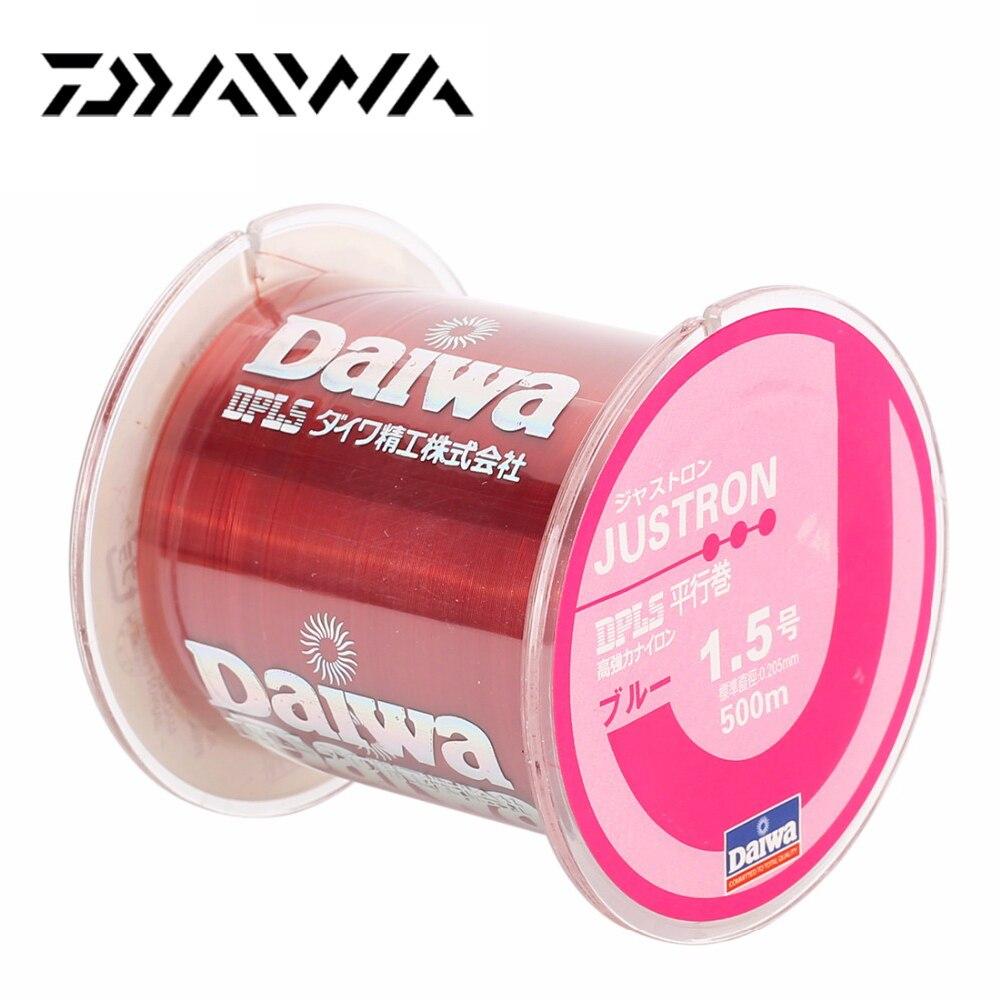 Daiwa 100% Original 500M Strong Quality Nylon Fishing Line ...