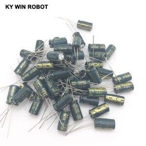 Image 5 - 50 ADET Alüminyum Kapasitörler 1000 uF 108 20% 8*16mm 16 V 1000000nF 1000000000pF Diameter8mm