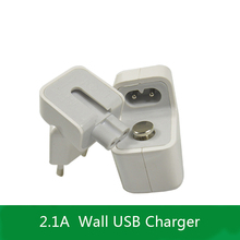 Effelon Universal New 12W 2.1A USB Wall Charger EU plug for Apple iPad mini/2/3/4/AIR For Samsung Andorid Tablet Charger