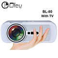 BL-80 Android Wifi HD Multimedia LED Projector AV/HDMI/ATV/USB 1800lumens Video Games TV Home Theater Projector proyector beamer