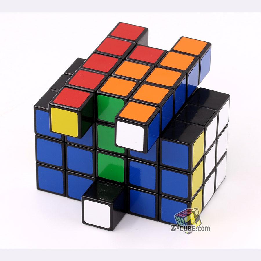 TomZ /& mf8 Full Function 3x4x5 345 Spring Magic Cube Black Twist Puzzle Toy