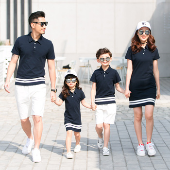 68c03ea8 Mother Daughter Outfits Little Sister Big Sister Family Matching Clothes  for Couples Mother Daughter Dresses Pajamas Father Son