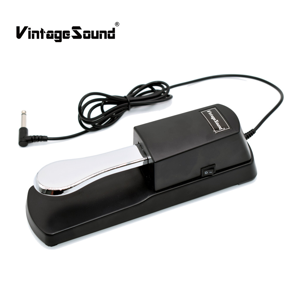 Piano Sustain Pedal Midi Keyboard Sustain Damper Pedal for Yamaha Casio Roland Korg Electric Piano Electronic Organ Synthesizer