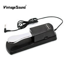 Piano Lestari Pedal Midi Keyboard Lestari Pedal Damper untuk Yamaha Casio Roland Korg Electric Piano Electronic Organ Synthesizer
