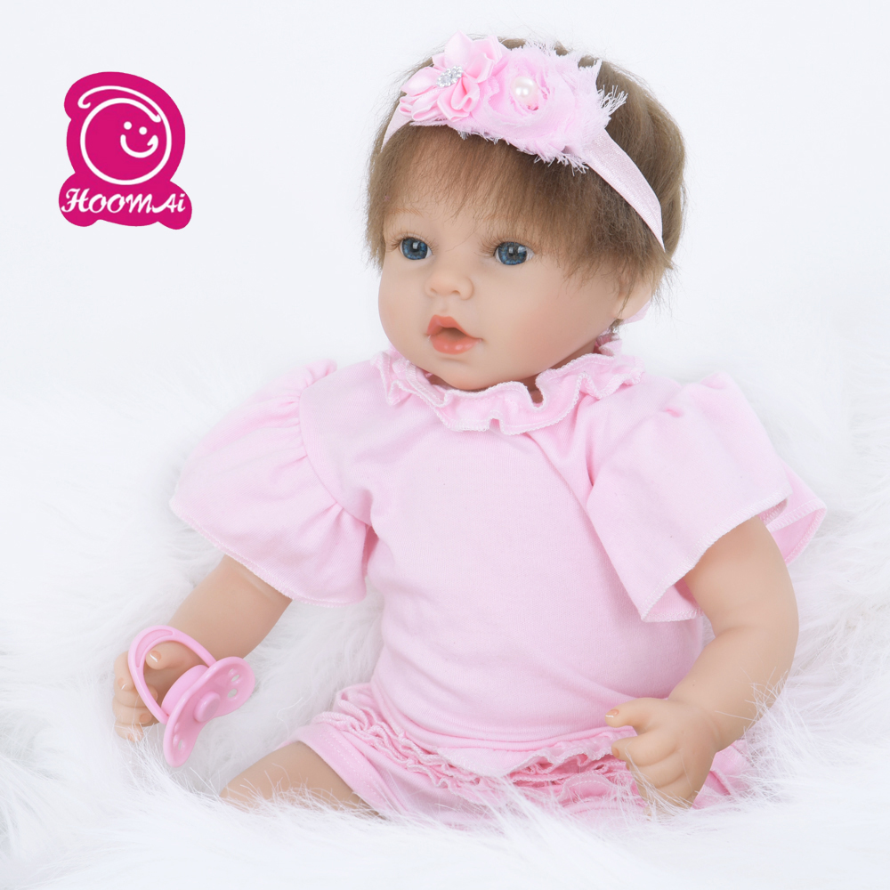 22 Inch 55CM Adorable Baby Alive Doll Educational Style Toys Cloth Body Reborn Doll Kit for Sale22 Inch 55CM Adorable Baby Alive Doll Educational Style Toys Cloth Body Reborn Doll Kit for Sale