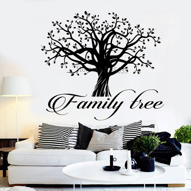 Family Tree Logo Vinyl Wall Decals Household Word Quote Tree Of Life Delectable Tree Of Life Quote
