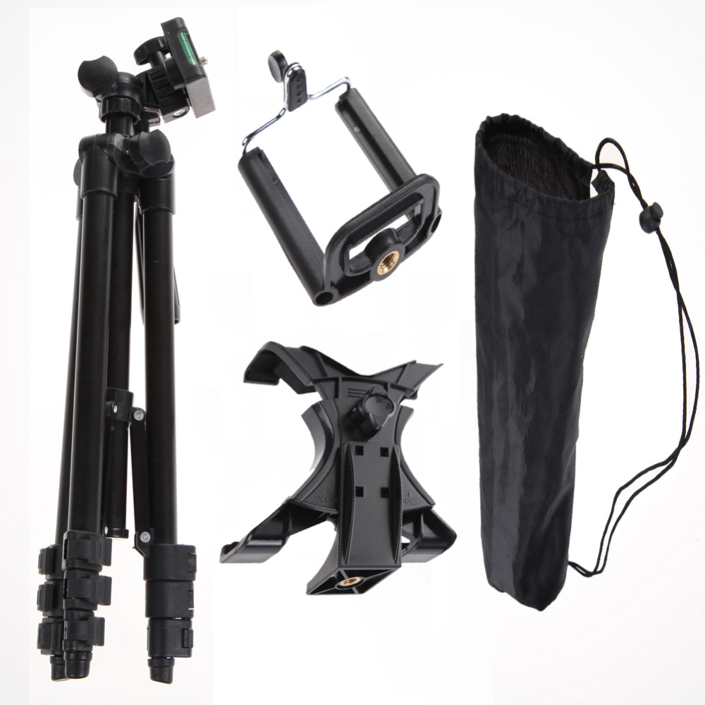Professional Photographic Camera Tripod Stand Holder For iPhone iPad Samsung GALAXY Phone Holder Table PC Holder