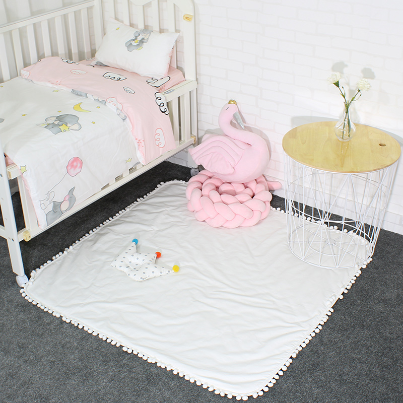 Amour arbre coton enfants tapis bébé jouer tapis dans la pépinière enfants tapis Pad pour ramper chambre décoration tente tapis 120x120cm