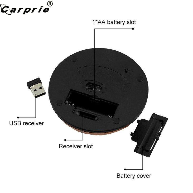 CARPRIE спортивная баскетбольная форма 2,4 ГГц Беспроводная игровая мышь эргономичная 3D оптическая мышь для ПК ноутбука 90523-5
