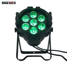 10pcs/lot Aluminum alloy LED Par 7x12W RGBW 4in1 DMX512 Wash dj stage light disco party light Dj Lighting professional Lights