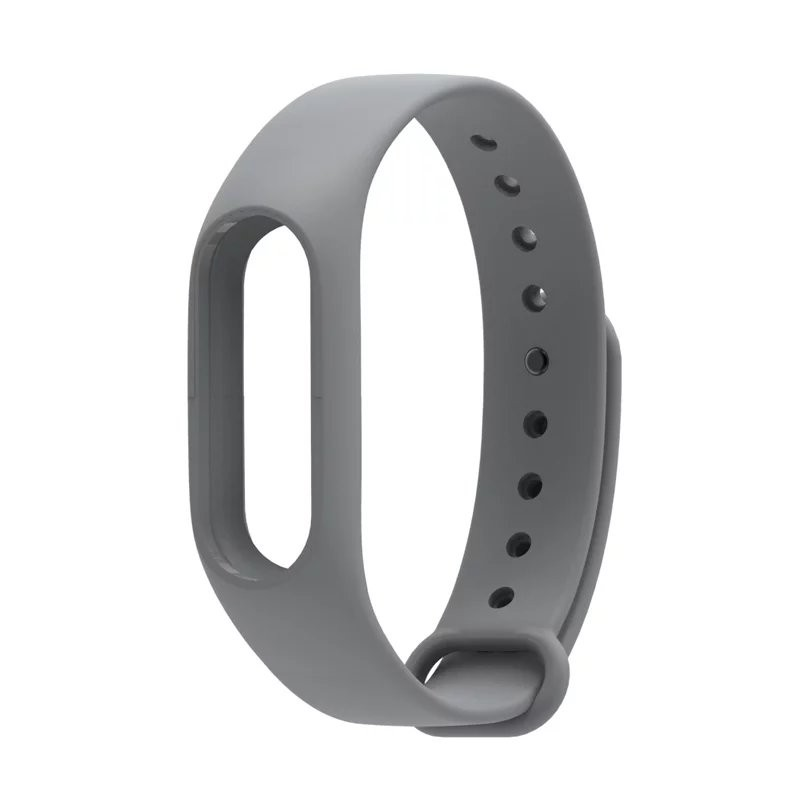 IN STOCK Xiaomi Mi Band 2 Colorful Silicone Strap For Xiaomi miband 2 Bracelet Replace Smart Wrist Strap Mi Band Accessories 8