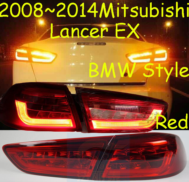 Lancer EX taillight,sedan car,2008~2015,Free ship!4pcs/set,Lancer EX rear light,Pajero,ASX,Outlander yuzhe leather car seat cover for mitsubishi lancer outlander pajero eclipse zinger verada asx i200 car accessories styling