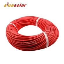 Высокое качество 4 мм(12awg) кабель для солнечных модулей кабель с TUV UL утверждения 10 м/рулон