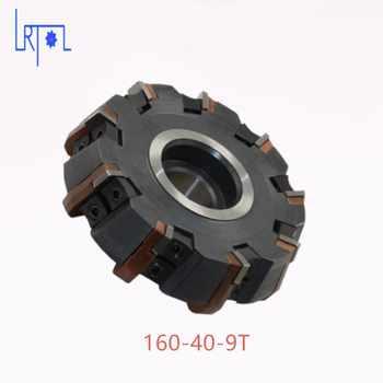 Livraison Gratuite DIa 160*40mm 75 degrés Fraise Outils Pour carbure Inserts Convient Pour NC/CNC Machine face Fraise