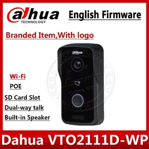 Image 1 - Dahua VTO2111D WP English version  P2P 1MP Wi Fi Villa Video Intercom Outdoor Station with logo Not VTO2111D W VTH1550CH