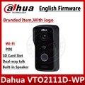 Dahua VTO2111D-WP versión en inglés P2P 1MP Wi-Fi intercomunicador de video para chalet Outdoor Station con logo no VTO2111D-W VTH1550CH