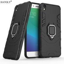 OPPO R9 Plus Case Cover for OPPO R9 Plus Finger Ring Phone Case Shell Bumper Protector Hard Back Armor Case For OPPO R9 Plus