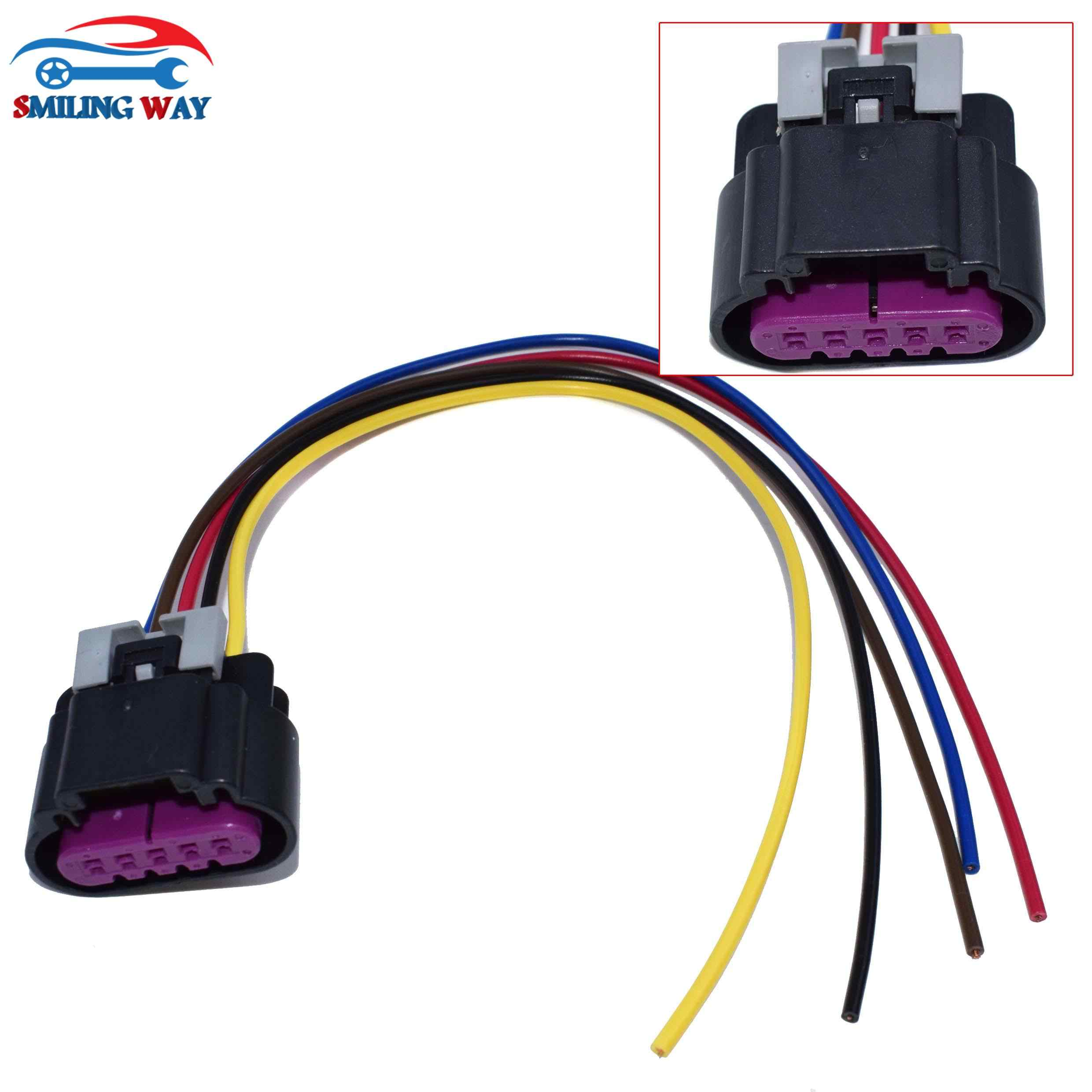 wiring harness connector ends ls3 ls7 5 pins maf mass air flow sensor wiring harness connector  ls3 ls7 5 pins maf mass air flow sensor