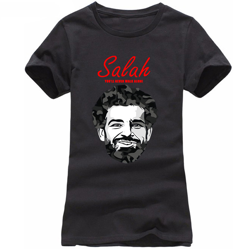 2018 new fshion salah liverpool footballer european programs games league t shirt cup wo ...
