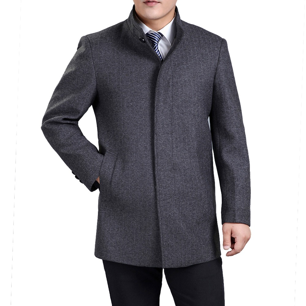 Aliexpress.com : Buy Winter Coats Brand Men&39s Wool Coats Mandarin