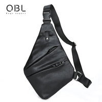 QiBoLu 2017 Sling Bags Men Single Shoulder Crossbody Chest Bag for Man Sacoche Homme Bolsa Masculina Bandolera Hombre 6307