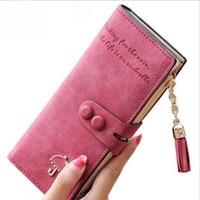 Long Women Wallets Luxury Famous Brands Designer Female Bag Ladies Cute Women S Purse Walet Leather