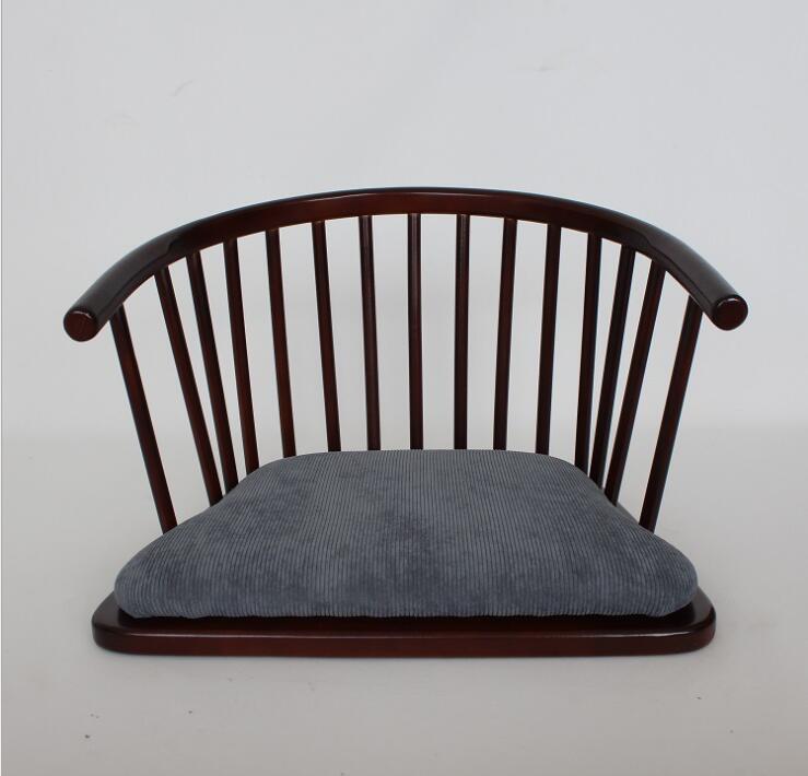 Luxury Zaisu Japanese Style Floor Chair Armchair Legless Style Zaisu Floor Chair Furniture Living Room Playroom Children Room|Living Room Chairs| |  - title=